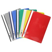 Exacompta, Presentation Transfer file standard PVC - A4 - Black (439701B)