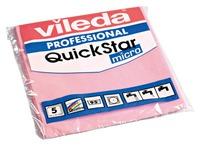 Lavette microfibre MicronQuick Vileda - Paquet de 5