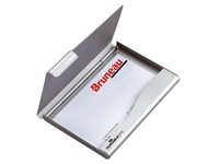 Visitenkartenhalter Durable aus Aluminium für 20 Karten