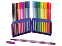 Stabilo Pen 68, drawing set of 20 coloured felt pens
