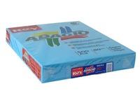 Papier kleur blauw A3 80 g Rey Adagio felle kleuren - Riem van 500 bladen