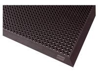 Teppich für drinnen/draußen Notrax Gummigitter 90 x 150 cm