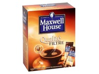 Box 25 sticks of instant coffee Maxwell House
