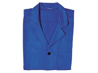 Men's work shirt, polycotton, blue