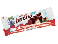 Barre chocolatée Kinder Bueno 43g - Boîte de 30