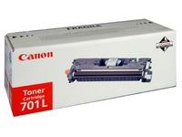 Toner Canon 701 couleurs séparées haute capacité pour imprimante laser