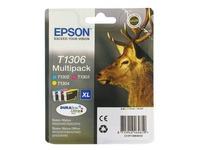 Pack van 3 cartridges Epson T1306 kleur