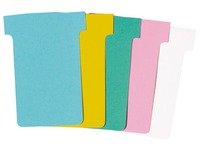 Pack of 100 standard T-cards, 60 mm