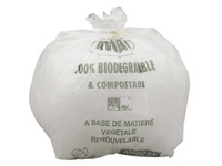Atoubio, cardboard, 200 biodegradable garbage bags 80L, with tape