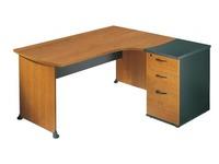 Pack compacte werkpost B 160 cm bijzet rechts en ladeblok