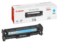 Toner Canon 718 couleurs séparées
