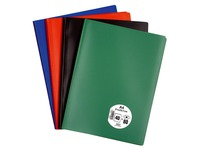 Document holders eco polypropylene frosted A4 40 sleeves