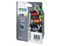 Cartridge 3 kleuren Epson C13T041040 - Epson T041