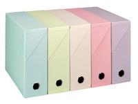Archiv-schachtel 90 mm - farbig sortiert