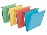 Suspension file for cabinets 33 cm Premium kraft LMG Esselte bottom 30 mm assorted colours