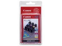 Set van 3 cartridges Canon CLI 526 kleur