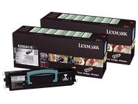 Pack 2 toners black Lexmark E250A11E