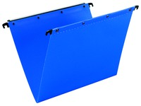 Hanging folders for drawers 33 cm PP Ultimate Elba 80 mm blue