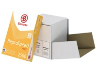 Paper A4 white 80 g Bruneau Reprospeed Plus - Box of 2500 sheets