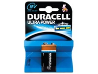 Duracell Ultra Power alkaline batteries, 9v