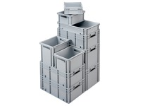 Stackable box in plastic Viso 65 l