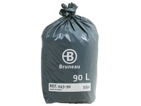 Cardboard, 200 plastic bags standard quality < BR > 90 litres, 55 microns