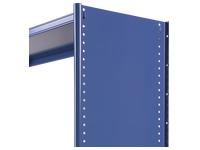 Cache latéral rayonnage polyvalent bleu hauteur 250 cm