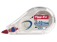Tipp-Ex Mini Pocket Mouse Korrekturroller 5 mm x 6 m - Pack 15 + 5 gratis