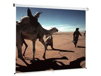 Projectiescherm met muurbevestiging Oray manueel 180 x 180 cm