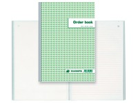 Standard auto-copying order books 297 x 210 mm 50-3