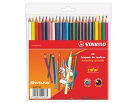 Case 24 colour pencils Stabilo