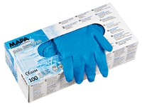 Doos 100 latex handschoenen Mapa niet gepoederd