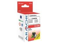 Cartridge Armor compatibel Canon PG540XL zwart