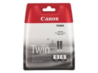 Pack van 2 cartridges Canon PGI5 zwart