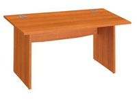 Straight desk Excellens 140 cm full undercarriage
