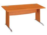 Straight desk Excellens 160 cm L undercarriage