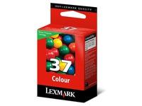 Lexmark Cartridge No. 37 - kleur (cyaan, magenta, geel) - origineel - inktcartridge - LRP