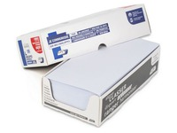 Doos met 100 witte enveloppen GPV 110 x 220 mm bedrukbaar - zonder venster