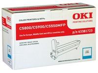 43381723 OKI C5800 OPC CYAN