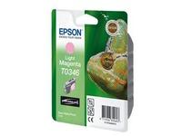 Epson T0346 - lichtmagenta - origineel - inktcartridge (C13T03464010)