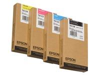 Epson T6124 - geel - origineel - inktcartridge (C13T612400)