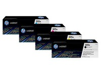 HP 305A - cyaan - origineel - LaserJet - tonercartridge (CE411AC) - Contract (120025440904)