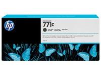 HP 771C - dof zwart - origineel - inktcartridge (B6Y07A)