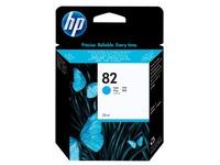 HP 82 - cyaan - origineel - inktcartridge (C4911A)