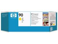 HP 90 - geel - printkop met reiniger (C5057A)