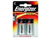 Blister 2 batterijen Energizer Max LR14