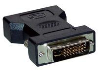 Adapter DVI-I mannelijk / S-VGA HD15 vrouwelijk