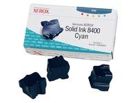 Xerox Genuine Xerox - 3 - cyaan - vaste inkten (108R00605)