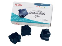 Xerox Phaser 8400 - 3 - cyaan - vaste inkten (108R00605)