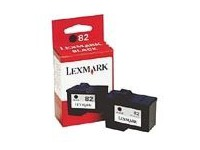Lexmark Cartridge No. 82 - zwart - origineel - inktcartridge (18L0032E)